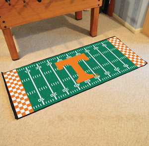 "Fanmats Sports Team Logo Design Indoor Floor Carpet Tennessee Runner 30""x72"""