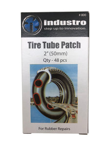 Taj Tools Tire Tube Patch, Multicolor