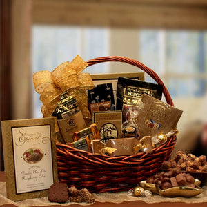 Chocolate Gourmet Gift Basket Medium
