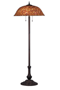 64 Inch H Tiffany Fishscale Floor Lamp Floor Lamps