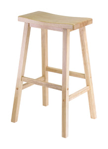 "Winsome Saddle Seat 29"" Stool, Single, RTA"