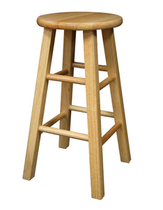 "Winsome Dakota 24"" Counter Natural Finish Stool"