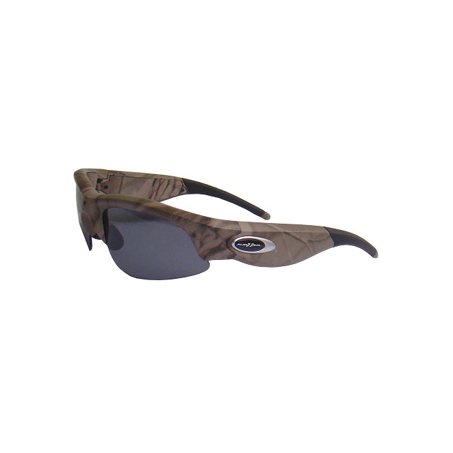 "Phazzer DVR5.0 HD Sport Wireless Recording Lightweight Eyewear ""Cyclops"" - Camo With Lenses"