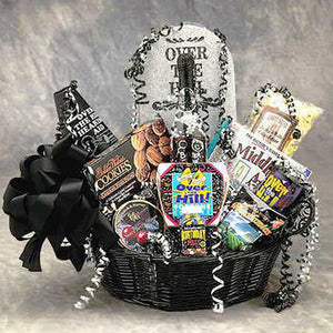 Over the Hill Birthday Gift Basket Medium