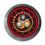 Neonetics Bar and Game Room Billiard 1,8,9 Neon Wall Clock, 15-Inch