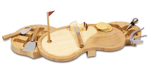 Picnic Time Sand Trap Cheese Board