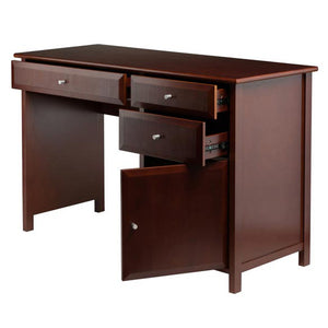 Winsome Delta Home Office, Walnut