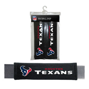 Houston Texans Seat Belt Pad 2 Pack