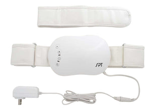 Vibrating Massager with Adjustable Belt