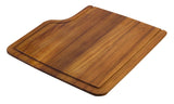 ALFI brand AB45WCB Rectangular Wood Cutting Board