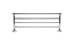 ALFI brand Polished Chrome Towel Bar & Shelf Bathroom Accessory