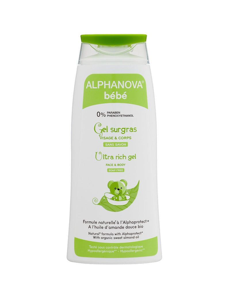 Bath Gel For Atopic Skin With Organic Almond And Water Lily  (200 Ml)