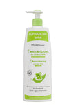 Alphanova Bebe - Baby Organic Democleasning Hair & Body Wash (500 ML) Organic Baby Formula with Water Lily