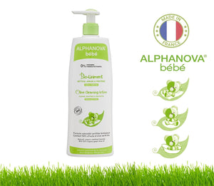 Alphanova Bebe Organic Olive Baby Cleansing Lotion -500Ml