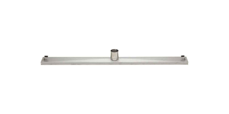 "ALFI brand ABLD36A 36"" Modern Stainless Steel Linear Shower Drain Without Cover, Silver"