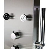ALFI brand ABSP40 Shower Panel, Brushed Stainless Steel