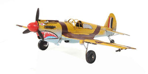 Old Modern Handicrafts 1941 Curtiss Hawk 81A Collectible, 1:36-Scale