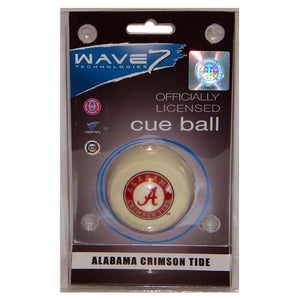 Alabama Sports Team Logo Officially Licensed Cue Ball