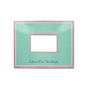 Bridal Bliss Advice Mat Photo Frame - Pack of 20