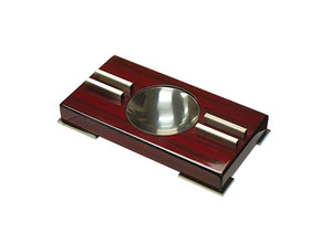 High Gloss Contemporary Art Deco Ashtray on Polished Feet