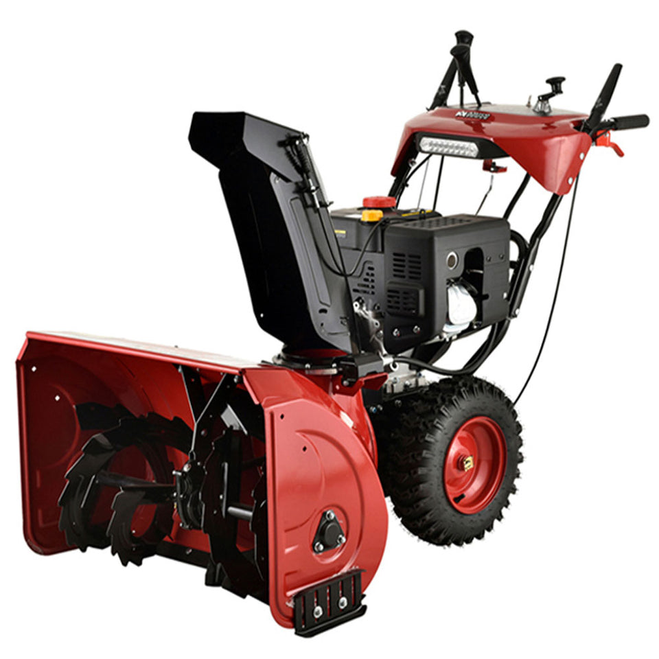 "Amico Power Deluxe 30"" 302cc Two-Stage E-Start Gas Snow Blower/Thrower With Auto-Turn Steering And Heated Grips"