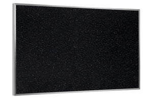 Ghent 4'x8' Feet Recycled Rubber Tackboard With Aluminum Frame