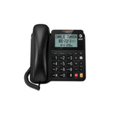 Vtech Corded Speakerphone with Display - BLACK