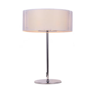 Bromi Design B3505 Lynch Iron Mesh White Table Lamp