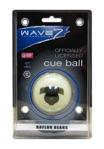 Wave7 Baylor Sports Team Logo Officially Licensed Cue Ball
