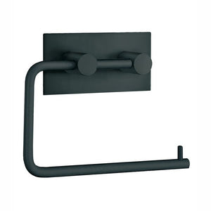SMEDBO Euro Toilet Paper Holder Black Self Adhesive