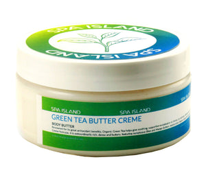 Spa Island Green Tea Body Butter Cream 5.9 oz