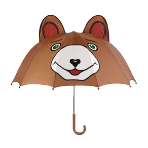 Kidorable brown bear umbrellas