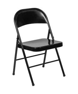 Flash Furniture HERCULES Series Double Braced Metal Folding Chair