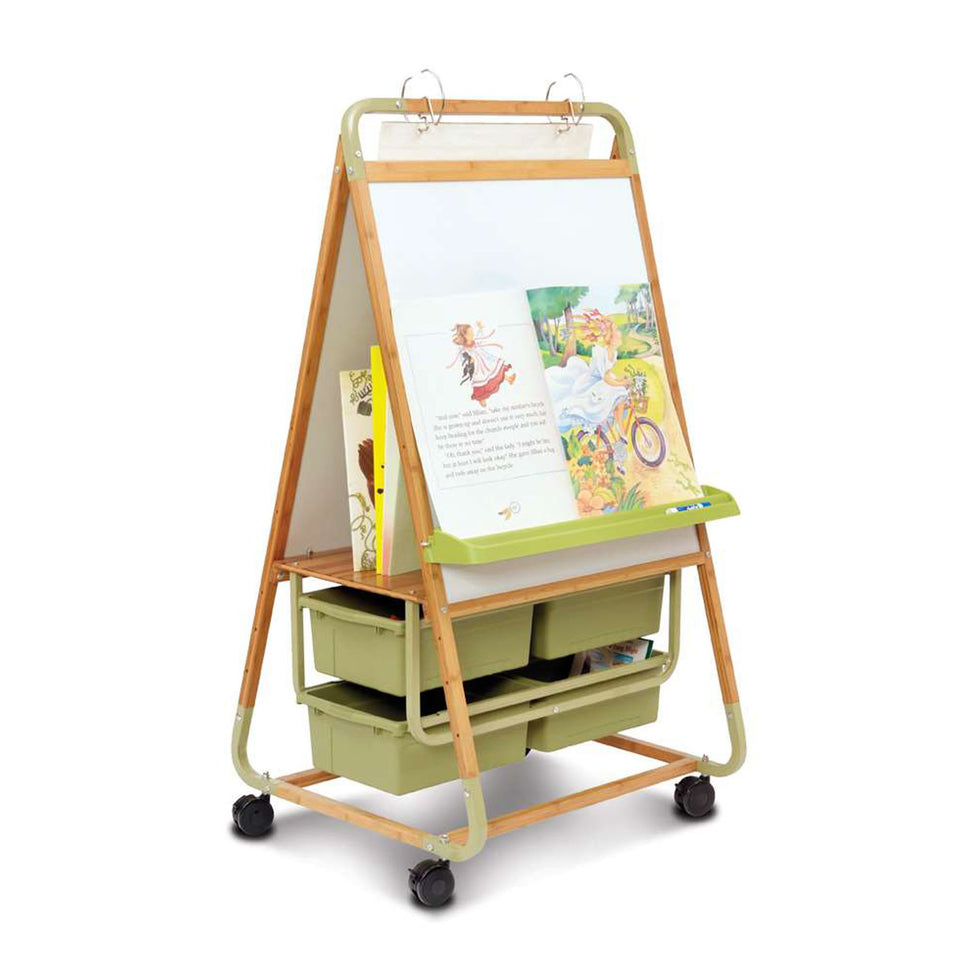 Double Sided Bamboo Teaching Easel