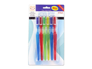 Deluxe Toothbrush Set - Pack of 12