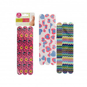 bulk buys Foam Nail Files Pack of 24