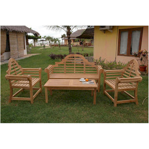 Anderson Teak Patio Lawn Garden Furniture Marlborough 3-Seater Bench