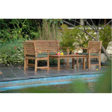 Anderson Teak 36 in. 3-Seater Victoria Bench