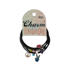 Bulk Buys Party Accessories Charm Jelly Bands Pack Of 24