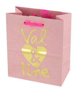 'Val & Tine' Small Gift Bag - Pack of 48