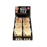 Bulk Buys Beauty Nail File Matchbook Display Case of 36