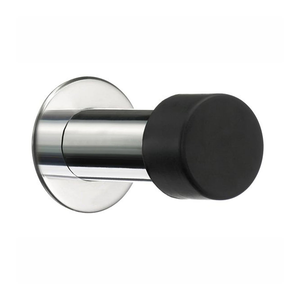 Stainless Steel Baseboard Stop Finish: Polished Stainless Steel