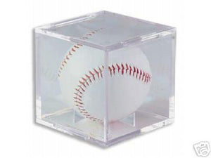 "BallQube Baseball Display Case/Holder ""Grand Stand"""