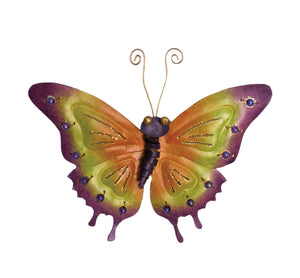 D-Art Iron Butterfly Wall Garden Decor