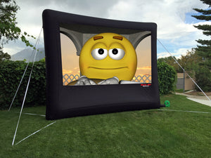 Open Air Movies Outdoor Backyard/Home Screen 13'