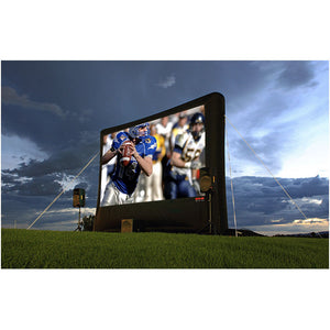 Open Air Movies Outdoor Backyard/Home Screen 17'