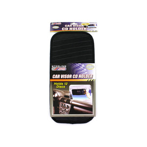 Car Visor Compact Disc Holder - Pack of 24