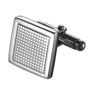 Caseti Maze Stainless Steel Cuff Links