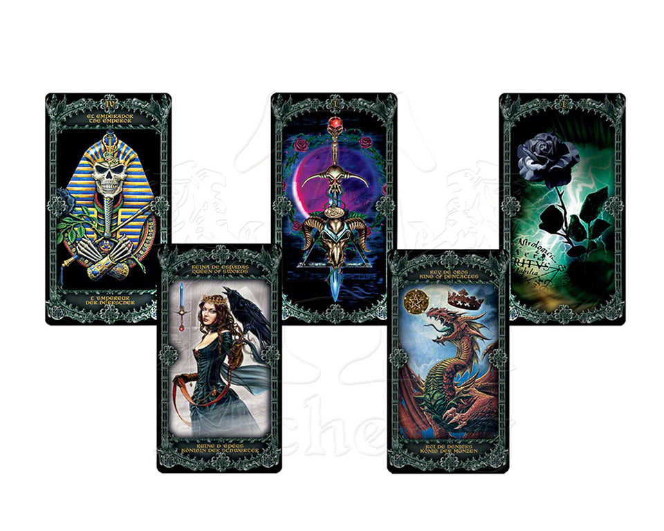 Alchemy Gothic Illuminated Oracle of Classic Tarot Card Set