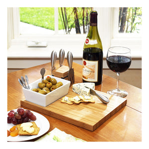 Buxton Cheese Board Set-Bamboo